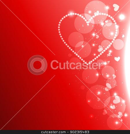 vector heart design stock vector clipart, stylish beautiful vector heart design background by pinnacleanimates