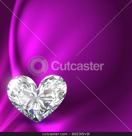 shiny heart illustration stock vector clipart, beautiful shiny heart background design illustration by pinnacleanimates