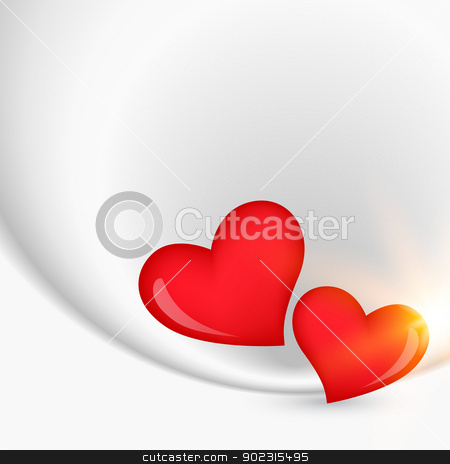 heart design vector stock vector clipart, beautiful heart design with space for your text by pinnacleanimates
