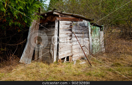 Shack stock photo, Farm shack in a field by Jaime Pharr