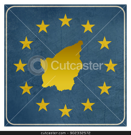San Marino European sign stock photo, San Marino European sign isolated on white background.  by Martin Crowdy