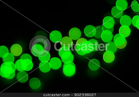 Abstract christmas lights  stock photo, Abstract christmas lights as background on black by Vitaliy Pakhnyushchyy