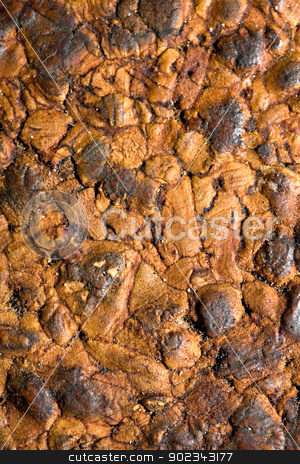 Old isolation wall stock photo, Old isolation wall made of compressed wood by Mirko Pernjakovic