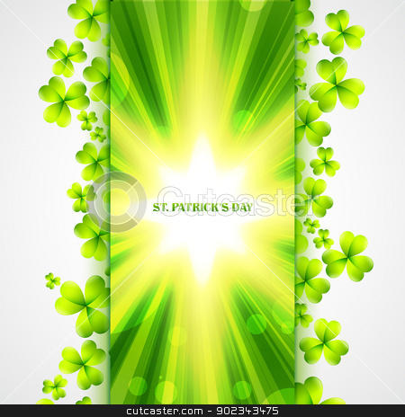 st patrick's day design stock vector clipart, beautiful vector st patrick's day design by pinnacleanimates