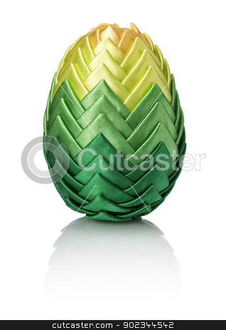 Easter egg stock photo, Easter eggs on white background. by Filip Warulik