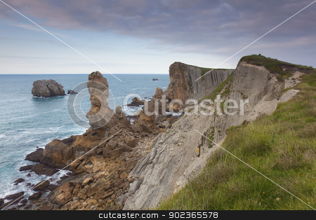 The Urros, Liencres, Cantabria, Spain stock photo, The Urros, Liencres, Cantabria, Spain by B.F.