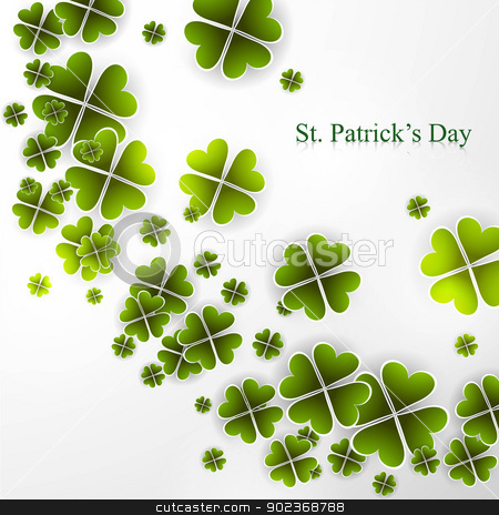St. Patrick's Day background presentation Vector illustration stock vector clipart, St. Patrick's Day background presentation Vector illustration by bharat pandey