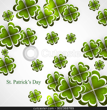 Abstract background of St Patrick Day colorful vector design stock vector clipart, Abstract background of St Patrick Day colorful vector design by bharat pandey