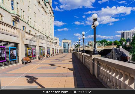 A street in Ottawa stock photo, An amazing street in Ottawa, Ontario, Canada by Peter Kolomatski