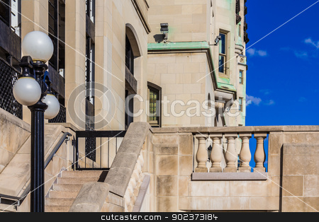 A street in Ottawa stock photo, An amazing street in Ottawa, Ontario, Canada by Peter Kolomatski