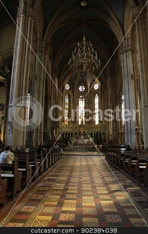 Zagreb cathedral stock photo, Zagreb cathedral by Zvonimir Atletic