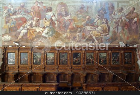 The Twelve-Year-Old Jesus in the Temple stock photo, The Twelve-Year-Old Jesus in the Temple by Zvonimir Atletic