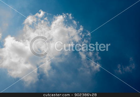 Cloud and sky stock photo, Cloud and sky by iroomm