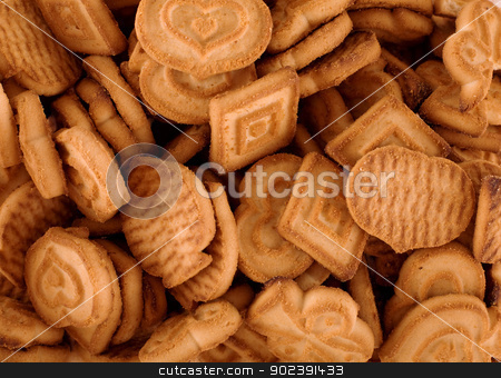 Sweet baking stock photo, Structure generated by sweet baking on a plate surface by Alexey Romanov