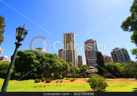 Plaza Barrancas de Belgrano in Buenos Aires stock photo, The Plaza Barrancas de Belgrano in Buenos Aires, Argentina. by Michael Osterrieder