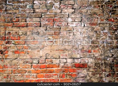 Brick Wall Background stock photo, Brick Wall Background by Liane Harrold