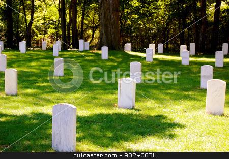 Johnson Island confederate cemetery stock photo, Johnson Island confederate cemetery by Liane Harrold