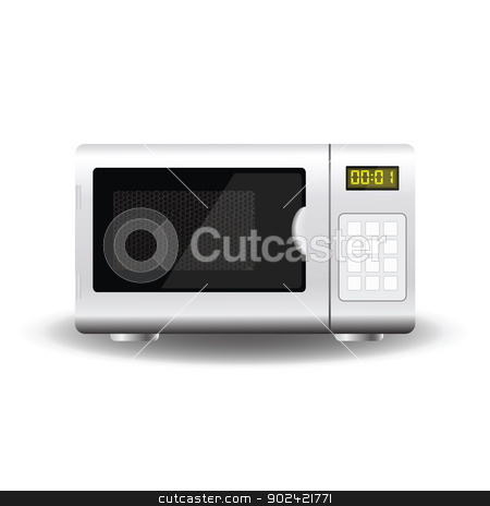 Microwave stock vector clipart, colorful illustration with Microwave for your design by valeo5