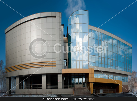 radiological center, Tyumen, Russia stock photo, radiological center for oncological patients in Tyumen, Russia by Aikon