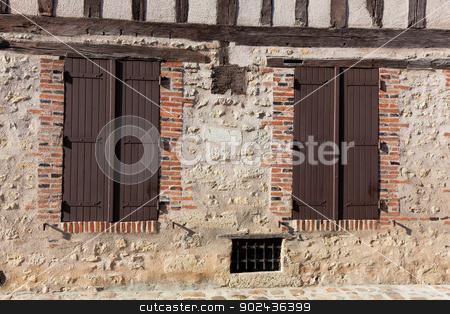 Architecture of Provins, Seine et Marne, Ile de France, France stock photo, Architecture of Provins, Seine et Marne, Ile de France, France by B.F.