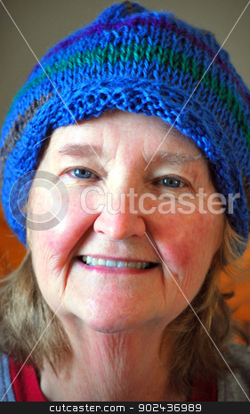 Mature female beauty. stock photo, Mature female beauty expressions outside. by OSCAR Williams