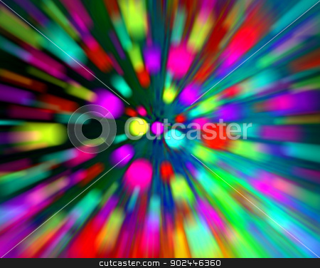 abstract color background stock photo, abstract explosion background generated by the computer by Jiri Vaclavek