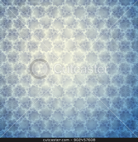 blue stars stock vector clipart, new abstract background with stars and dots can use like modern wallpaper by metrue