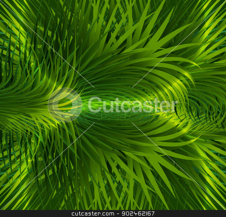 abstract shiny green grass colorful vector design stock vector clipart, abstract shiny green grass colorful vector design by bharat pandey