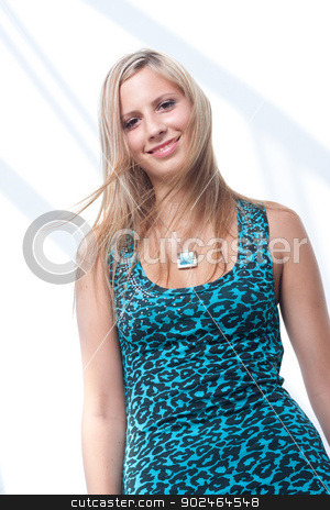 smile girl stock photo, smile blonde girl by Zdenek Fotoduki Kintr