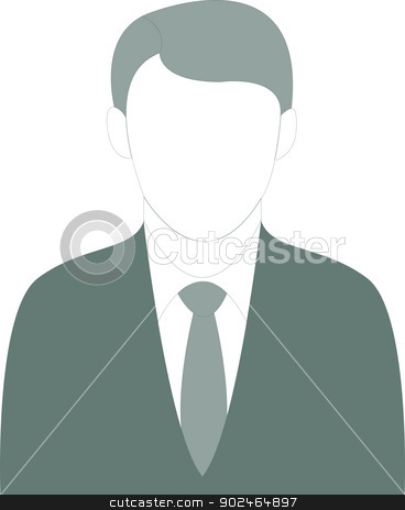 Well dressed Business Man stock vector clipart, Vector/Illustration of a welldressed business man. by Dimitrios Oikonomou