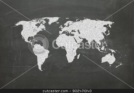 world map on chalk board stock photo, world map on chalk board, world map from www.lib.utexas.edu by matteo bragaglio