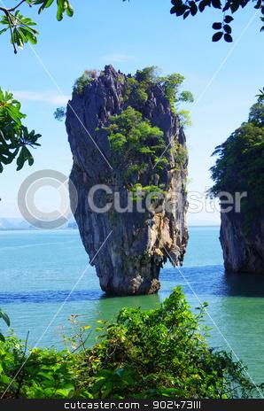 james bond island  stock photo, james bond island in thailand by Vitaliy Pakhnyushchyy