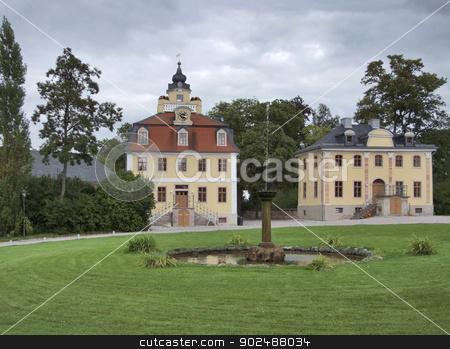 schloss belvedere stock photo, schloss belvedere in Weimar, a city in Thuringia by prill