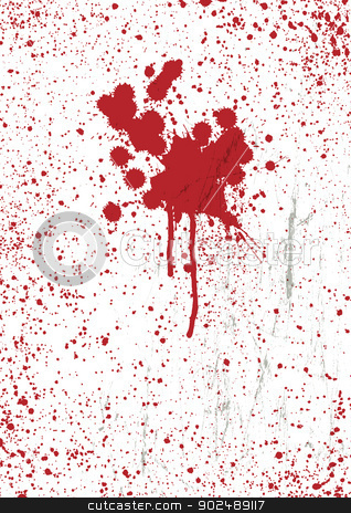 Blood stains texture background, vector. stock vector clipart, Blood stains texture background, vector. by pashabo