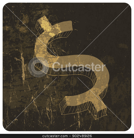 Grunge illustration of king and queen chess figures. Vector stock vector clipart, Grunge illustration of king and queen chess figures. Vector by pashabo