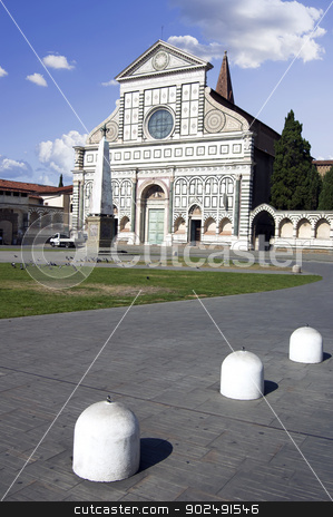 Santa Maria Novella, Florence stock photo, Santa Maria Novella 's facade in Florence, Italy by Bojan Bokic