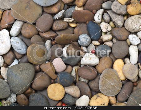 Background texture of stones stock photo, Background texture of stones by gururugu