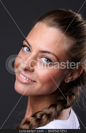 Portrait of beautiful woman  stock photo, Portrait of beautiful woman  by andersonrise