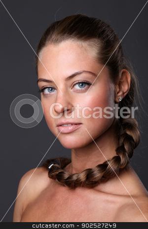 Portrait of beautiful woman  stock photo, Portrait of beautiful woman  by andersonrise