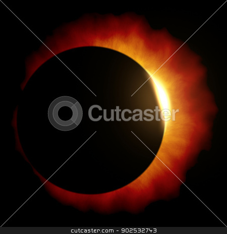 sun eclipse stock photo, An image of a beautiful sun eclipse by Markus Gann