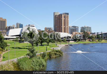Panorama of Adelaide, Australia stock photo, Panorama of Adelaide, Australia by Alexander Ludwig