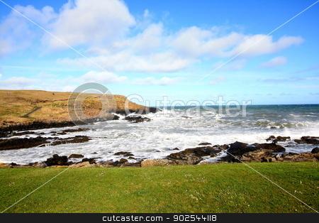 Irish coastline in Springtime  stock photo, Irish coastline in Springtime  by Juliet Photography