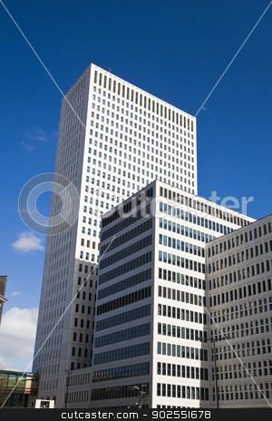High buildings EMC Rotterdam stock photo, High buildings of Erasmus Medical Centre Rotterdam the Netherlands - vertical by Colette Planken-Kooij