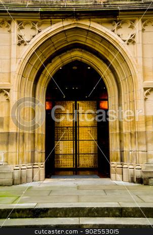Door church2 stock photo, Door church2 by Gjee