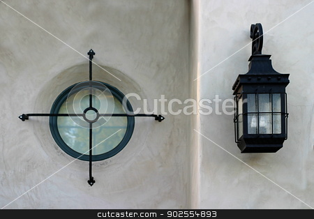 Window And Light stock photo, Abstract combination of a window and light. by Henrik Lehnerer