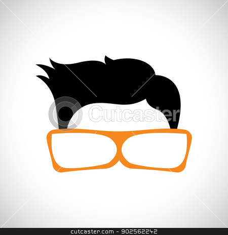 Geek Guy stock photo, Illustration of a Geek Guy by DreamCursor