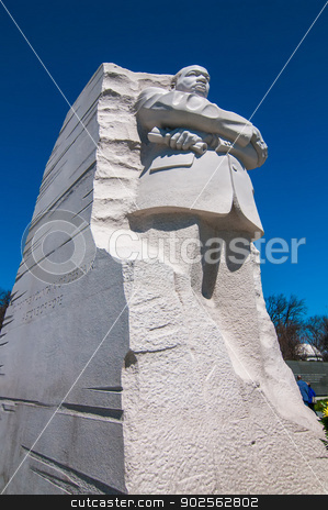 Martin Luther King Jr. Monument in Washington DC stock photo, Martin Luther King Jr. Monument in Washington DC by digidreamgrafix.com