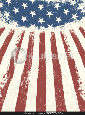 American flag themed background. Vector stock vector clipart, American flag themed background. Vector by pashabo