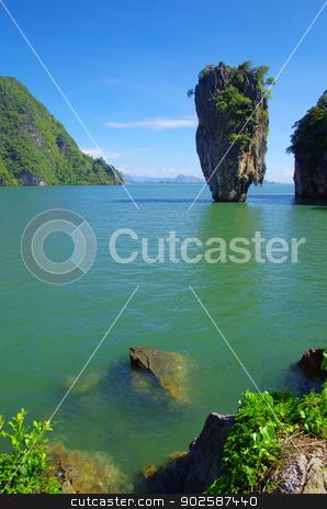James Bond Island stock photo, James Bond Island, Phang Nga, Thailand by Vitaliy Pakhnyushchyy