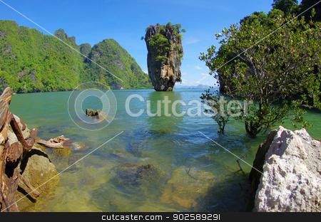 Island, Phang Nga, Thailand stock photo, James Bond Island, Phang Nga, Thailand by Vitaliy Pakhnyushchyy